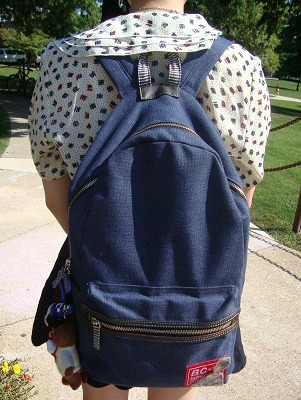 Chic backpack at indiana state university of pennsylvania