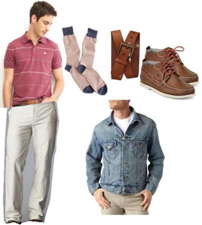 How to wear chinos - outfit for a date night