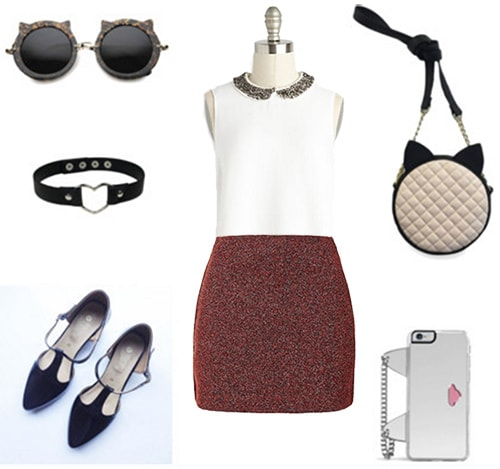 Chobits fashion: Outfit inspired by Chii