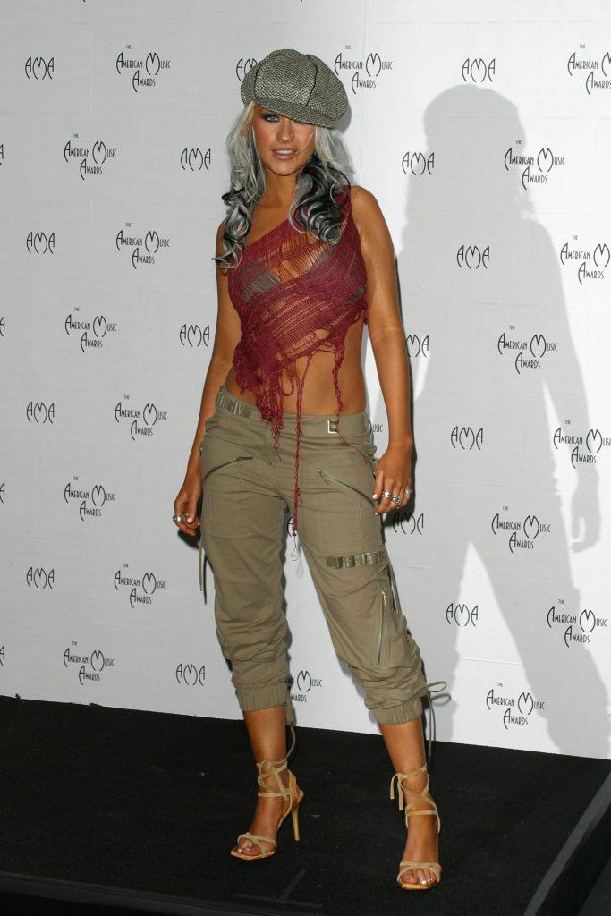 Christina Aguilera in 2003