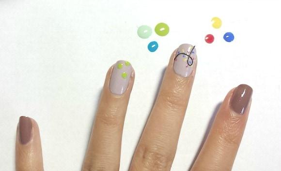 Christmas nail art tutorial step 4 part 1