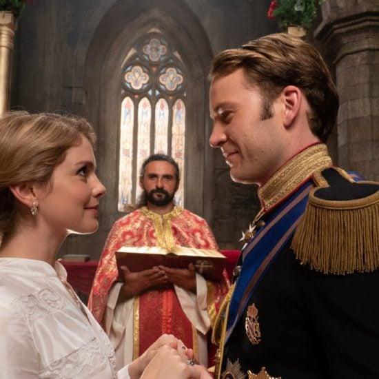Christmas prince royal wedding