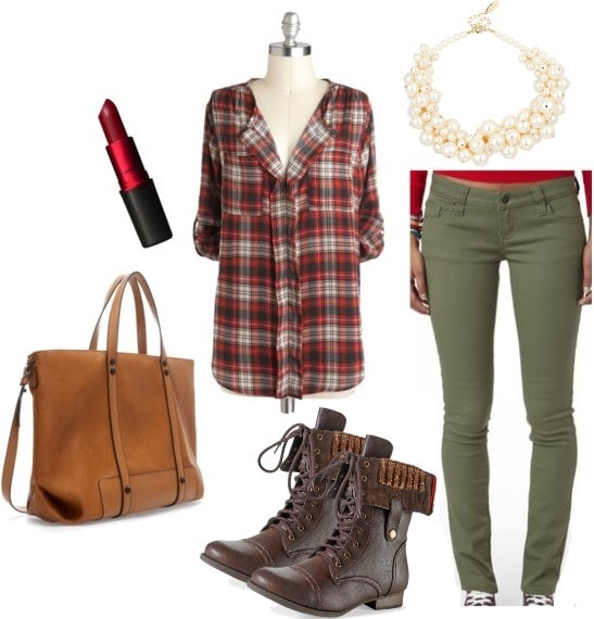 Christmas Carol Keep It Plaid Shirt