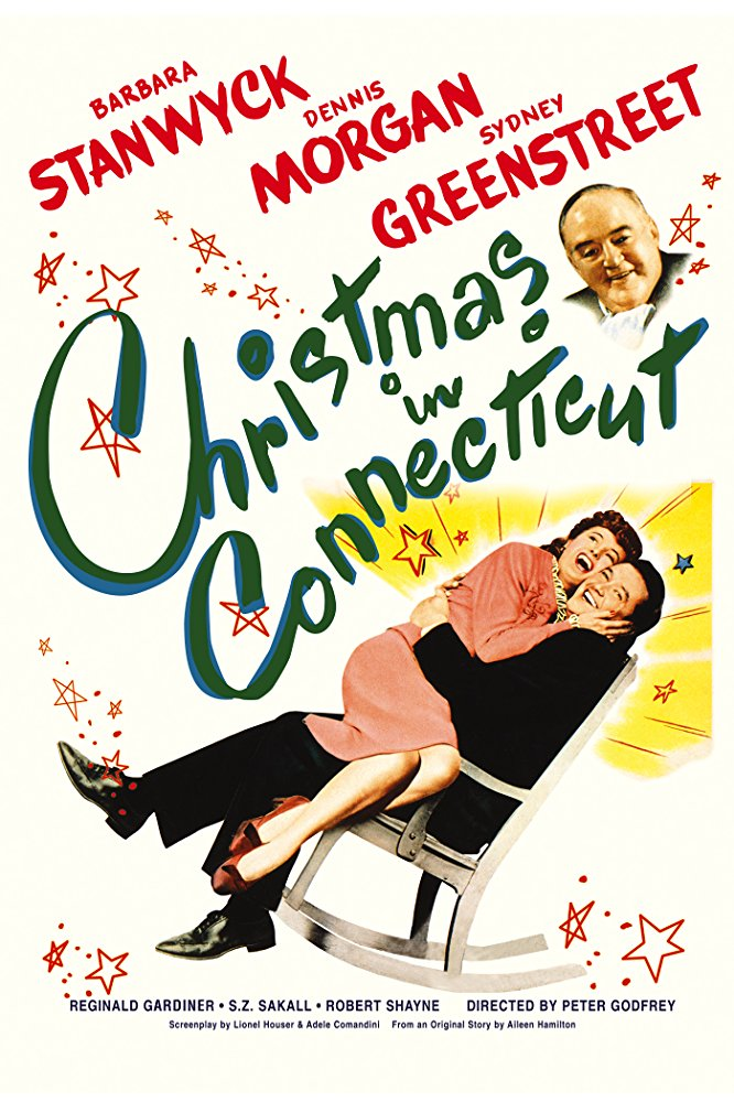 Christmas in CT movie poster -- classic Christmas movies