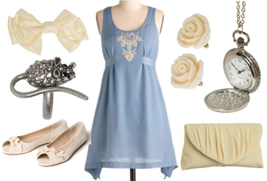A casual outfit inspired by Walt Disney's Cinderella