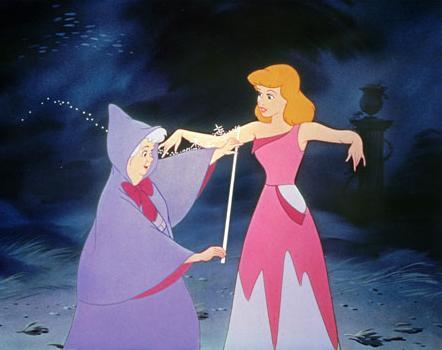 Cinderella in Garden