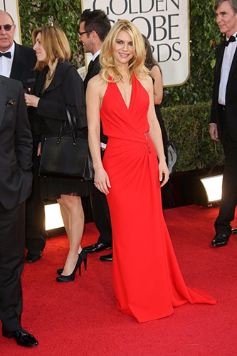 Claire Danes at the 2013 golden globe awards