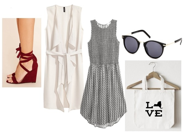 Outfit inspired by Claire from Proof