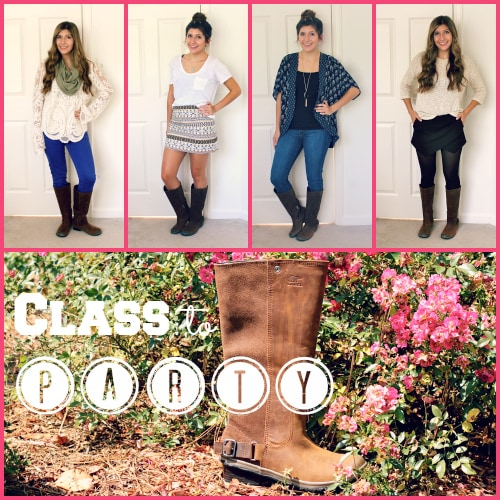 Class-to-Party-Outfits-With-SOREL-Boots