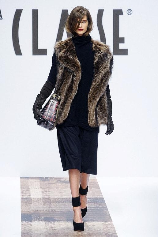 Classe Black and Fur Look