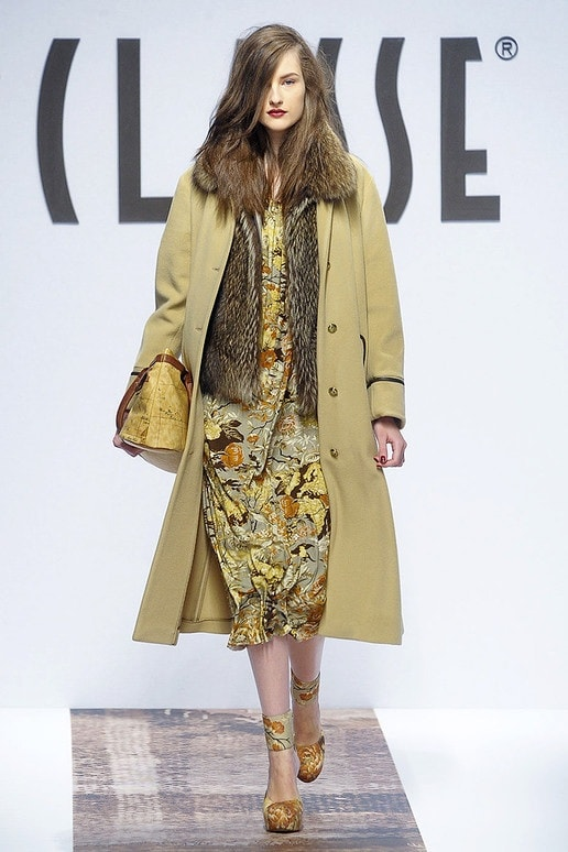 Classe Floral and Fur Look