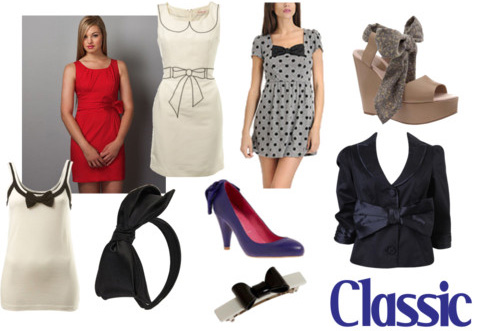 Classic bows fashion trend