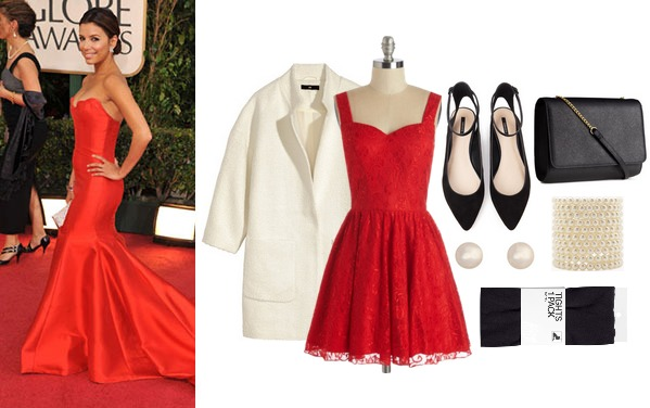 Classic chic red carpet look