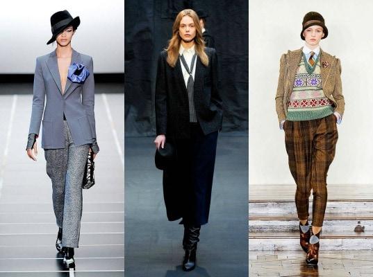 classic menswear on the fall 2012 runway