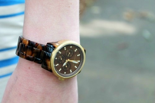 Classic wristwatch at unc chapel hill