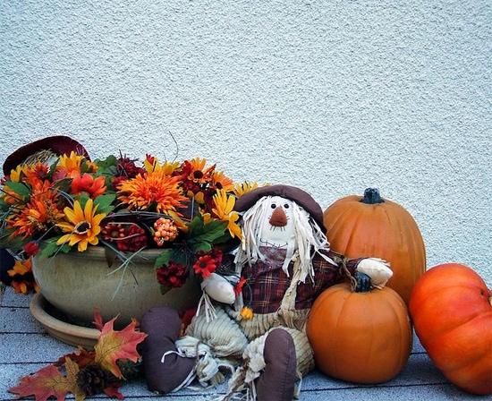 Classic fall decorations