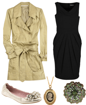 How to wear a classic trench coat