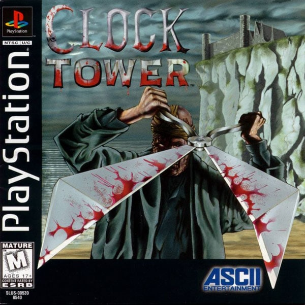 Clock Tower Playstation game