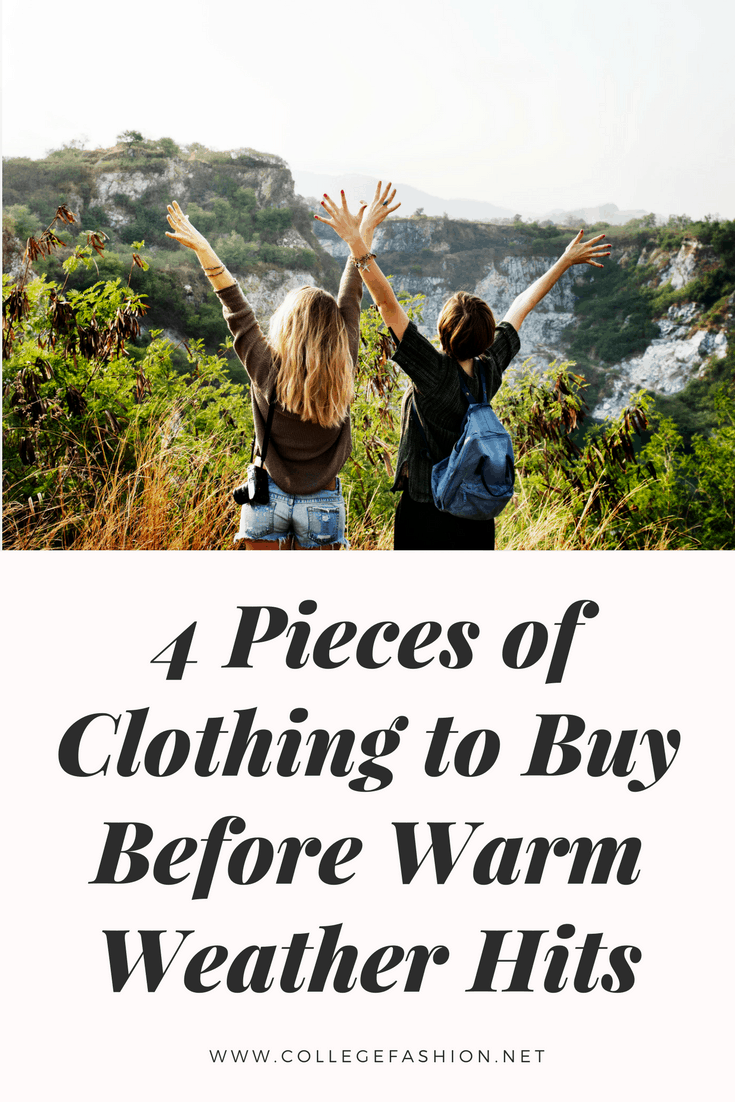 Clothes to buy for spring: The fashion must haves for the spring season to help you get ready for warm weather