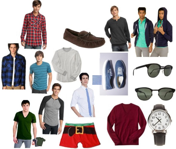 Clothing gifts for guys