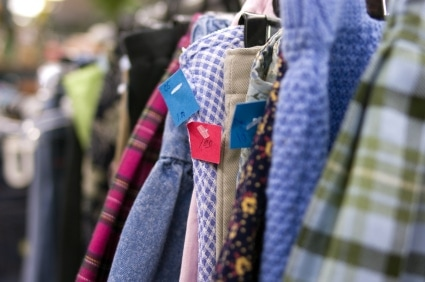 Clothes at a Clothing Swap