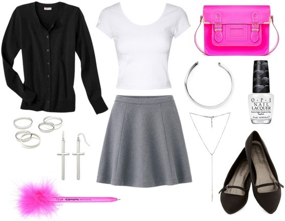 Clueless inspired back to school look
