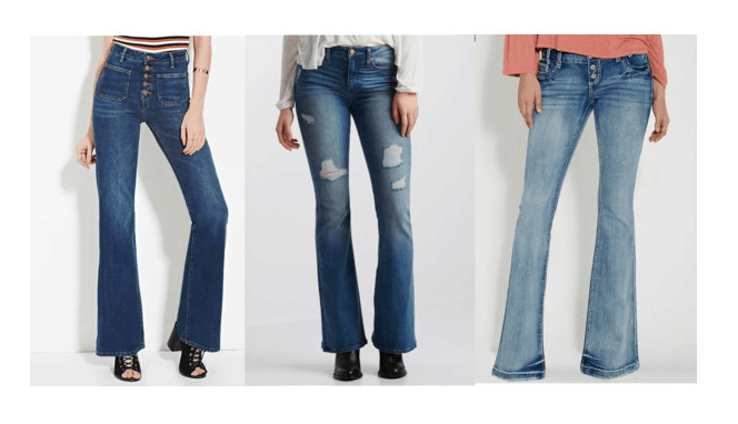 Class to Night Out: Flared Jeans