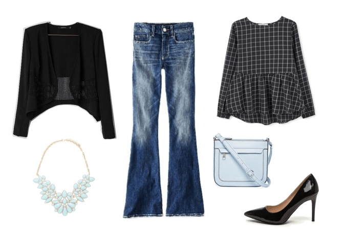 Night Out: Flared Jeans