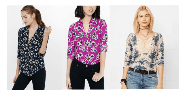 Class to Night Out: Floral SHirt