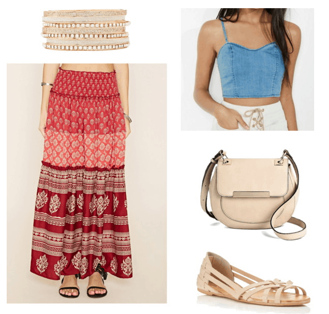 Gypsy Skirt for Class