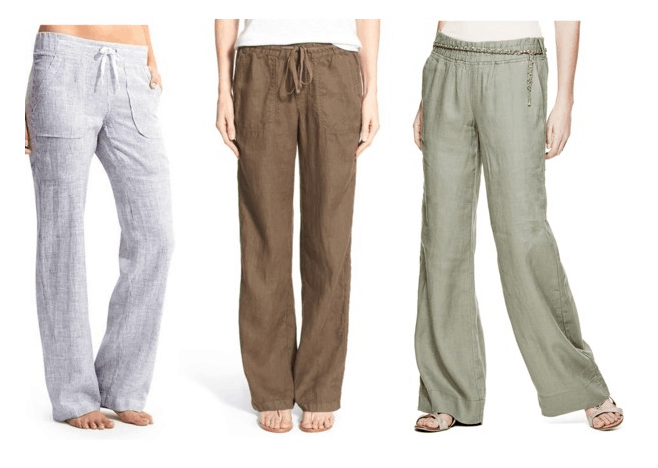 Class to Night Out Linen Pants