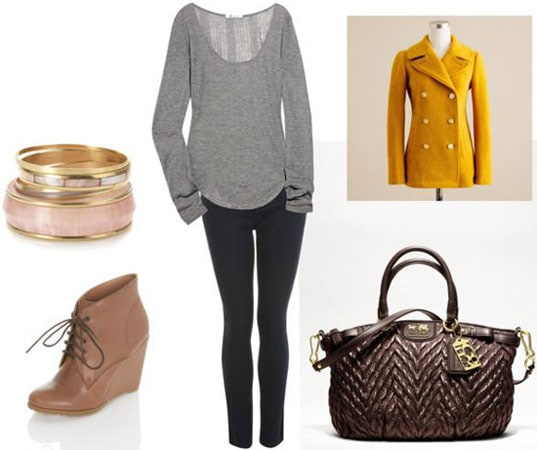 Outfit inspired by Reed Krakoff and Coach