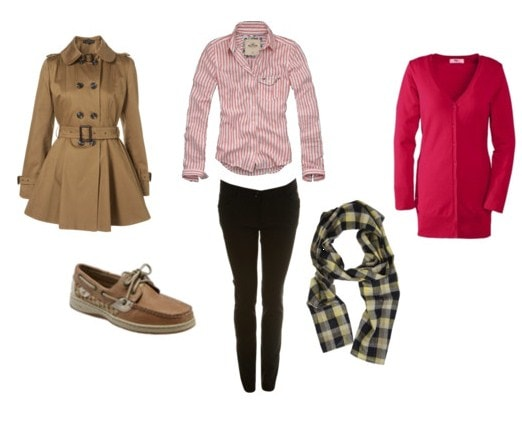coat outfit for girls
