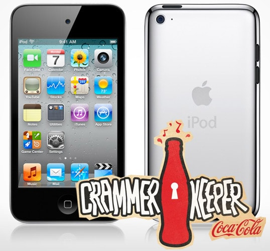 Coca Cola Crammer Keeper iPod Touch