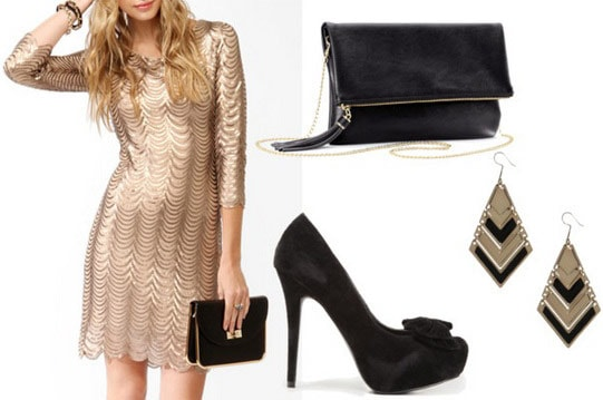 Cocktail soiree outfit