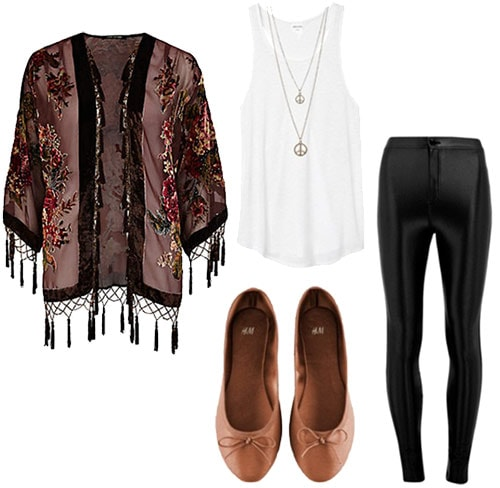 Coffeehouse outfit