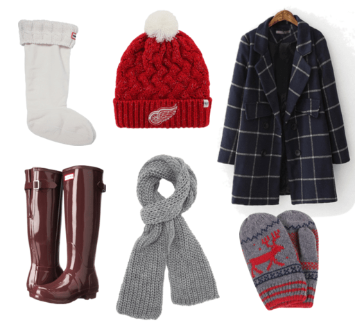 Hunter Boot Cold Weather Outfit