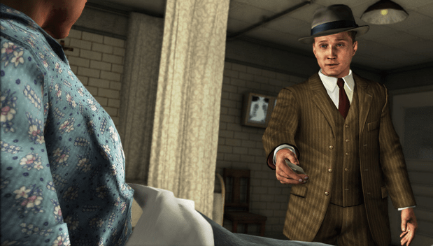 Cole Phelps from video game LA Noire
