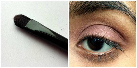 purple/plum eye makeup