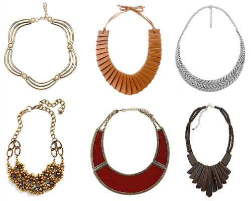 Collar necklaces fall 2011 must-have