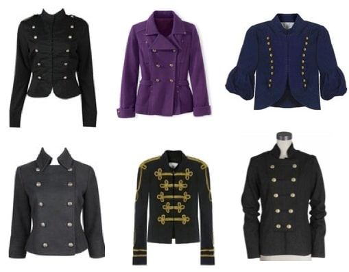Cute Military Jackets