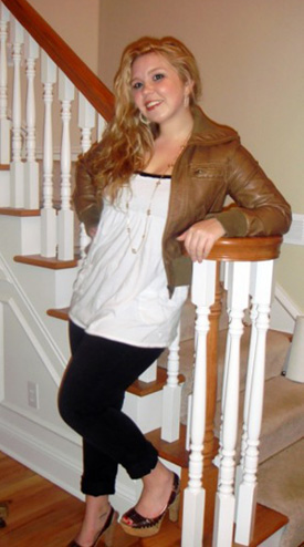 College Fashionista Lauren from the University of South Carolina