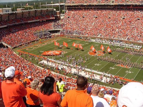 College football stadium