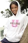 College Hoodie Sweatshirt