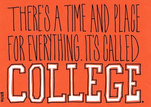 College quote
