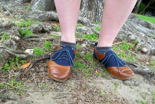 College shoe trend oxfords