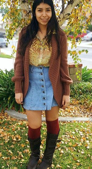 College street fashion at Cal State Fullerton