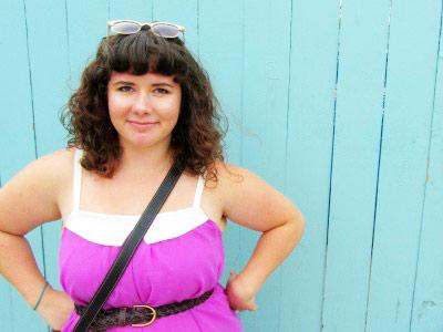 college-trend-bright-purple-dress