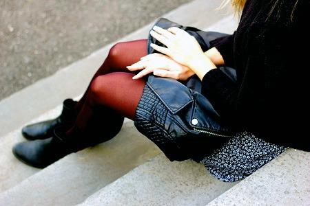 Colored tights at sarah lawrence