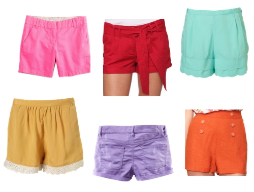 Colorful Shorts